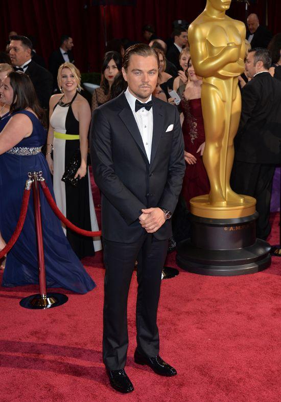 Leonardo DiCaprio wore a Tag Heuer model.