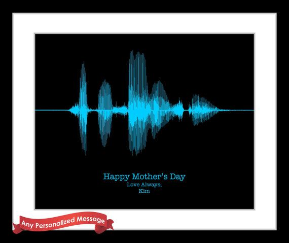 37 best mom gifts mothers day gift ideas images on pinterest personalized fathers day gifts for dad sound by creativewaveprints negle Images
