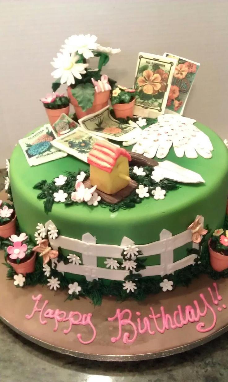 Best 25 Garden Birthday Cake Ideas On Pinterest Fairy Garden ...