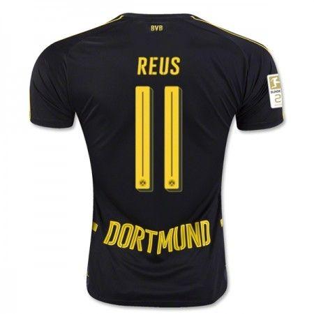 BVB Borussia Dortmund 16-17 Marco #Reus 11 Udebanesæt Kort ærmer,208,58KR,shirtshopservice@gmail.com