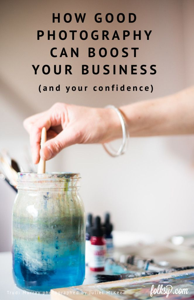 A photo shoot with a professional photographer can transform your business. Artist Trudi Murray shares her experience.
