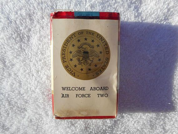 Super Rare Winston Air Force Two Vice Presidential Cigarettes