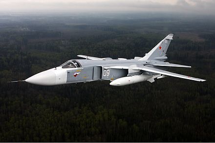 Sukhoi Su-24 FENCER - Wikipedia