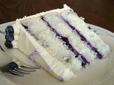 #Homemade Lemon Blueberry Marble Cake Dessert Recipe | Lick The Bowl Good: