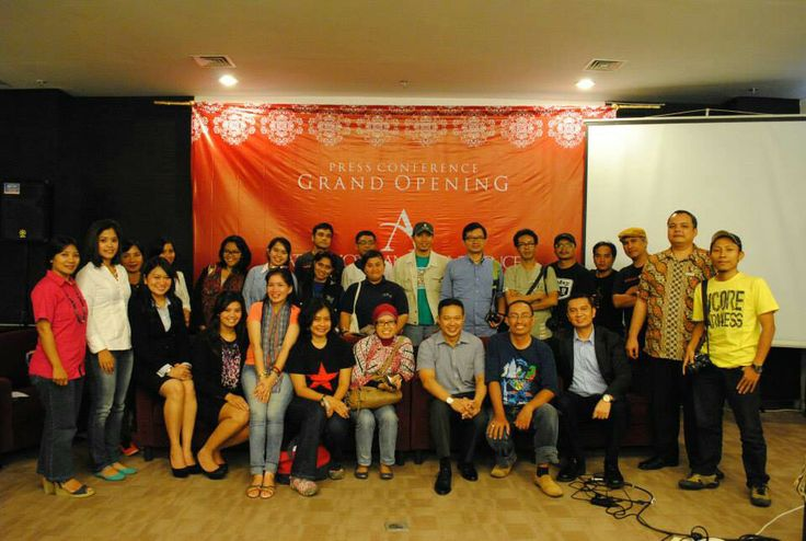 Atria Magelang with Journalist