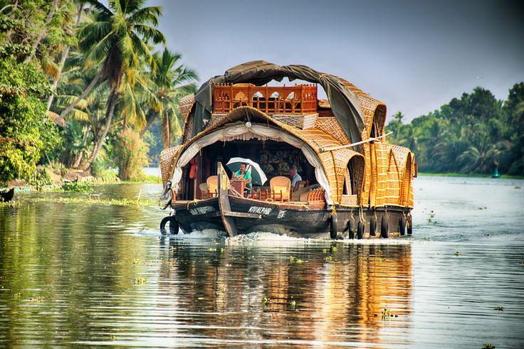 https://flic.kr/p/kEGNxV | Kerala Backwater Houseboats, Alleppey, Kerala, India
