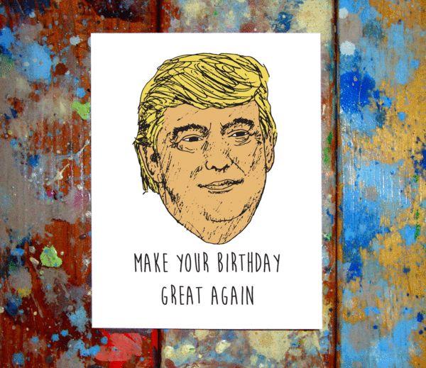 Amazon Com Funny Birthday Card Donald Trump Birthday: 17 Best Ideas About Donald Trump Birthday On Pinterest