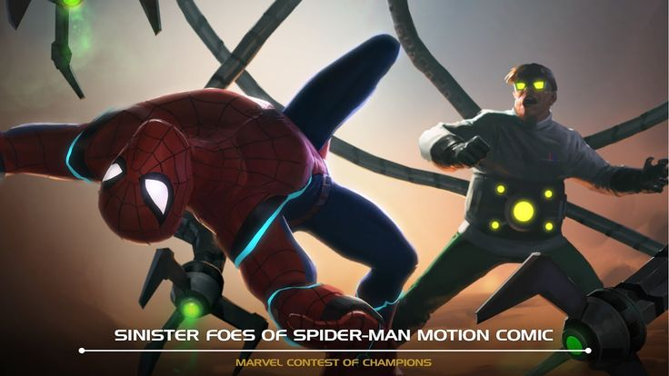 Sinister Foes of Spider-Man Motion Comic | Marvel Contest of Champions