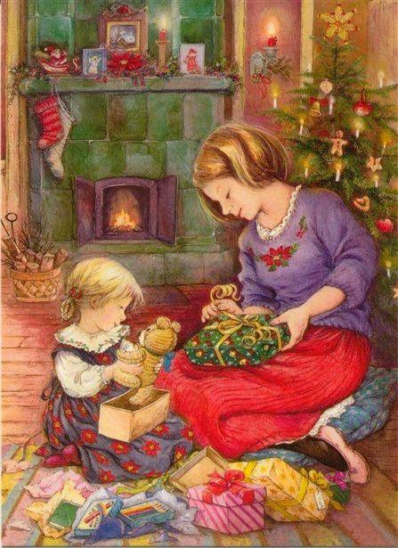 Vintage Christmas art ~ by lisi martin (1944) Spanish