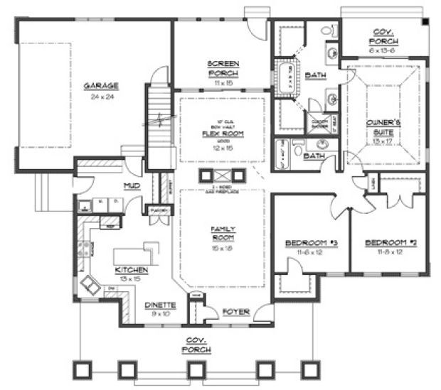 1000 images about home plans on pinterest monster house floorplan with guest house currant ridge cabin floor