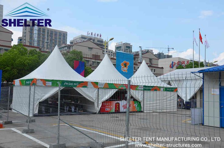 Canopy Tent | Gazebo Tent | Sport Event | Lounge Tent | http://www.shelter-structures.com/