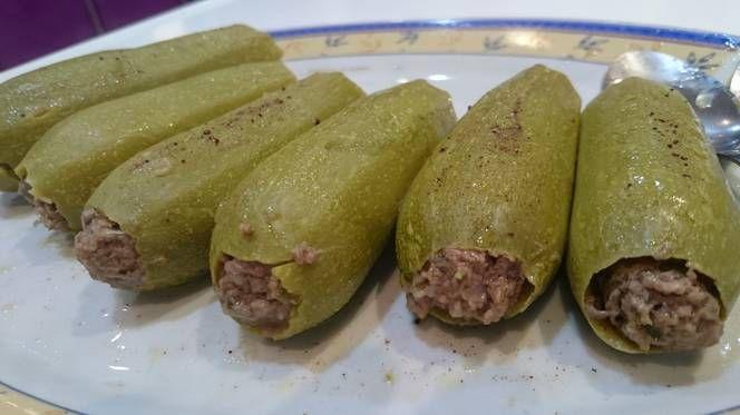 طريقة عمل محشي كوسة بدون رز بالصور من اميري علي Recipe Food Meat Sausage