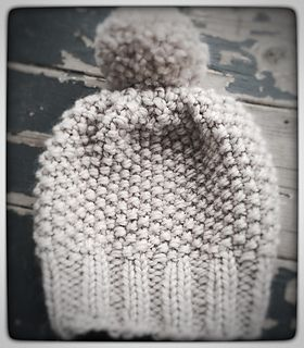 anthropology inspired. super squishy bulky knit beanie/toque for the winter ♥