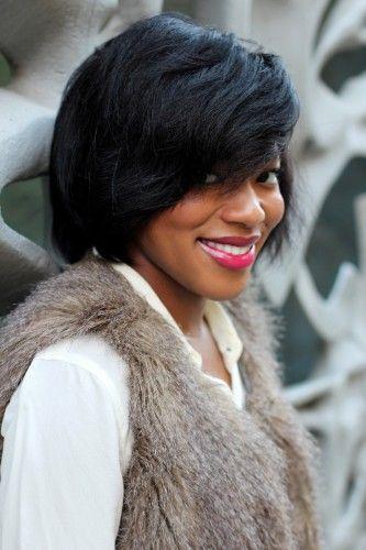 Pixie haircut for African American hair