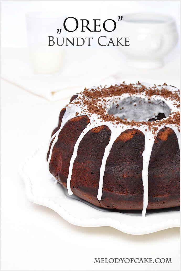 Oreo bundt cake #oreo http://www.melodyofcake.com/2015/03/17/oreo-bundt-cake-recipe/
