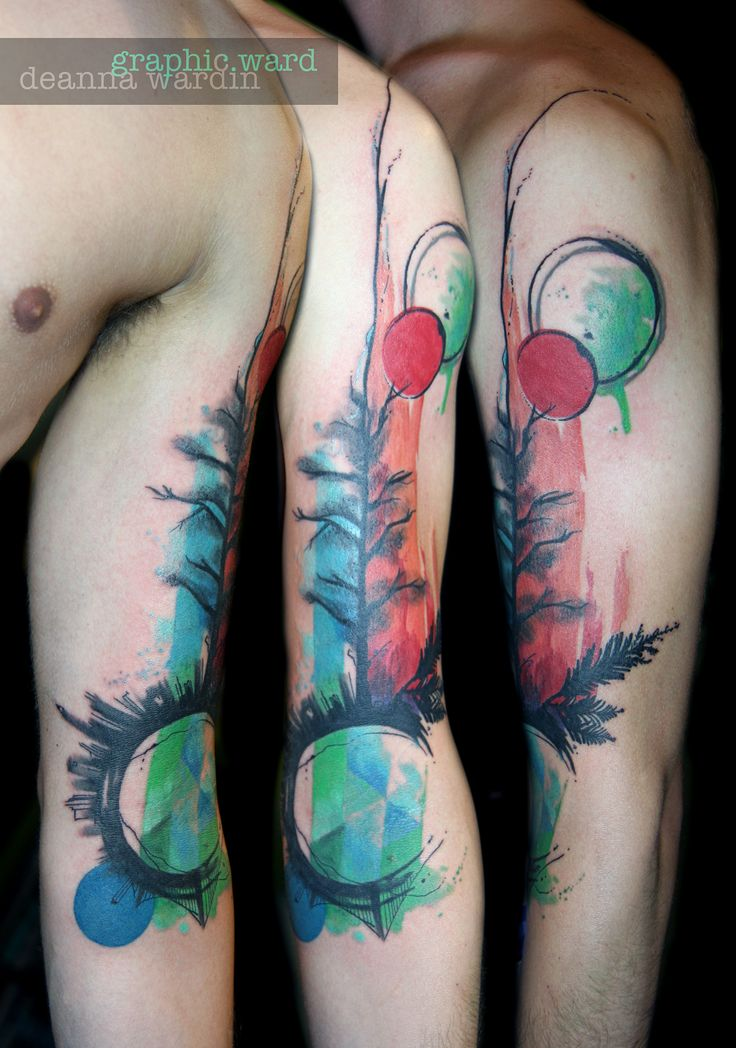 13 best tattoos abstract watercolor work images