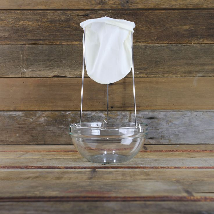 Jelly Strainer Set for Homemade Vinegar, Jelly, Soup & More - Home Canning Supplies