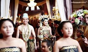 Javanese wedding Style