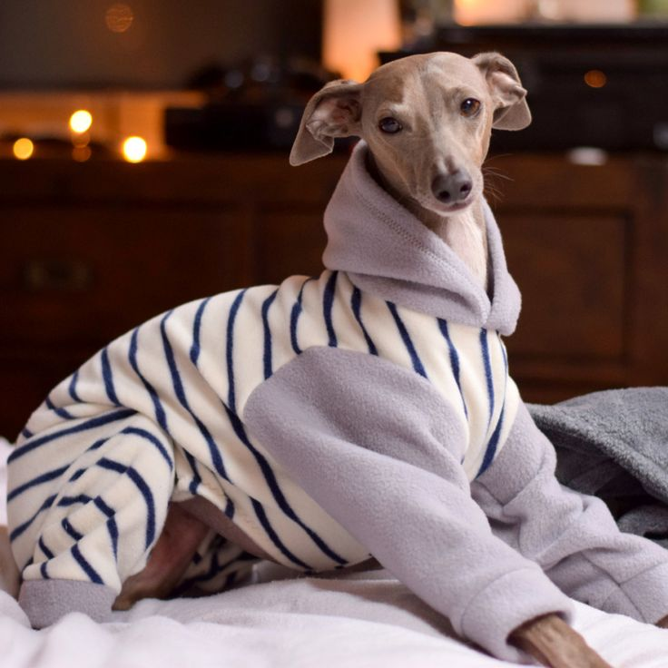 Fresh Striped Fleece Onesie from LOKO