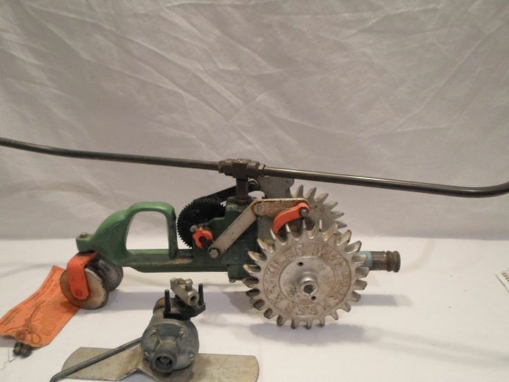Nelson Tractor Sprinkler Parts Repair : Best images about vintage garden water sprinklers on