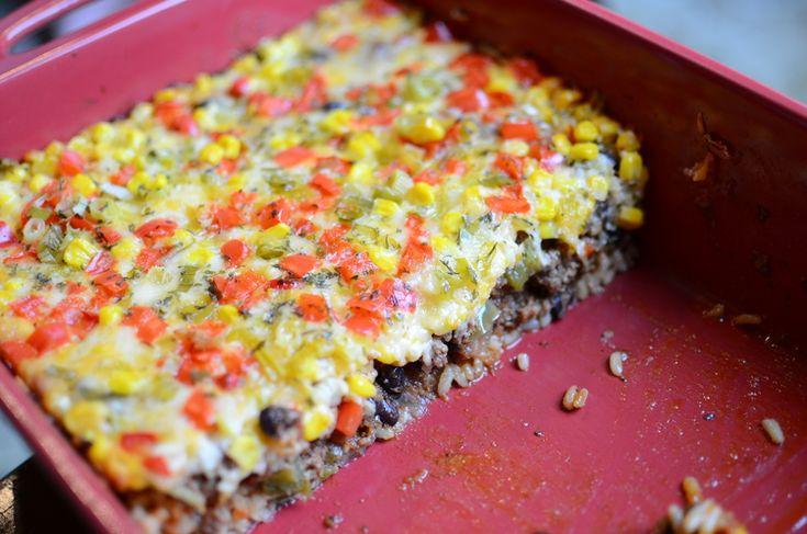 Mexican Beef Casserole — ButterYum