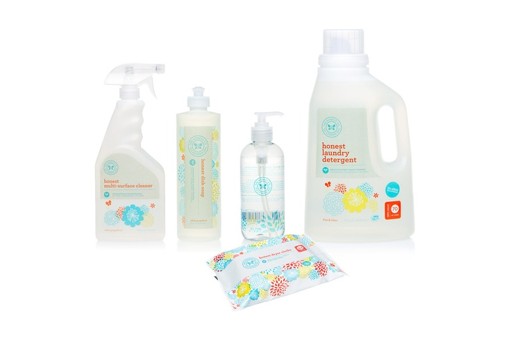 The Honest Housewarming Collection will help you make-over your cleaning routine the safe, non-toxic & eco-friendly way!