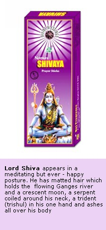 Shiva - Divine Incense Sticks