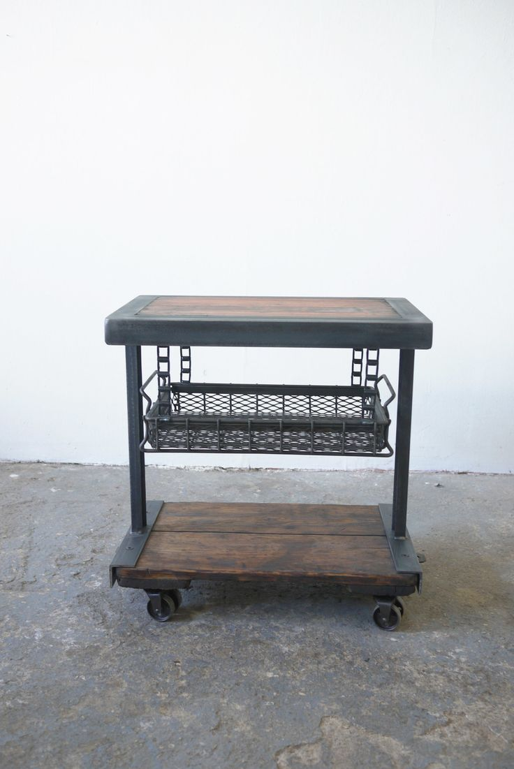 Industrial Side Table $835