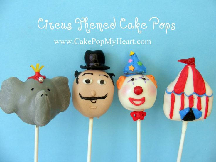 Circus Cake Pops!!!!