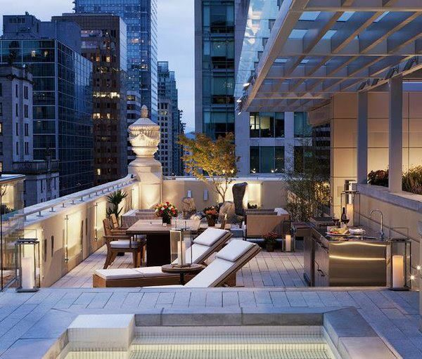 Roof Top, Rooftop Terrace And Rooftop Patio