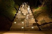 Memorial to the Victims of Communism, Petrin Hill, Prague, Czech Republic
