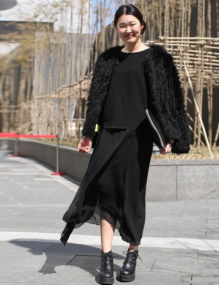 Seoul Fashion Week: Street Style Autumn Winter 2013 | ELLE UK