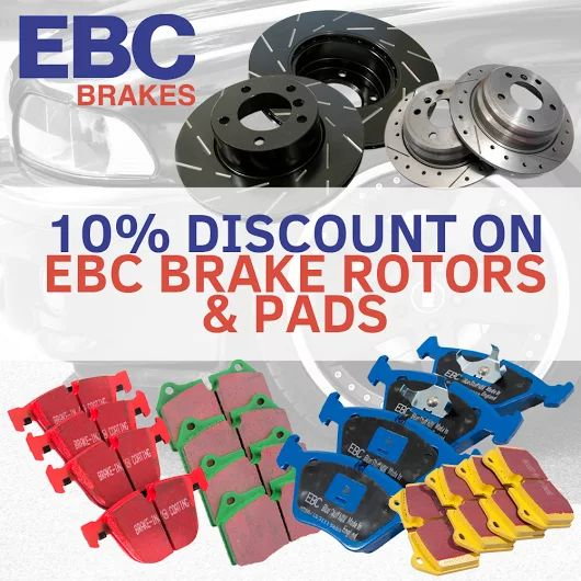Save 10% on EBC Brake rotors and pads! Check out the selection on http://goo.gl/9dMygM. #schmiedmann #bmwspecialist #bmw #brakes #brakerotor #brakepads #tuning #braking