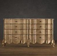 18th C. Danish Rococo 8-Drawer Dresser   Dressers   Restoration Hardware