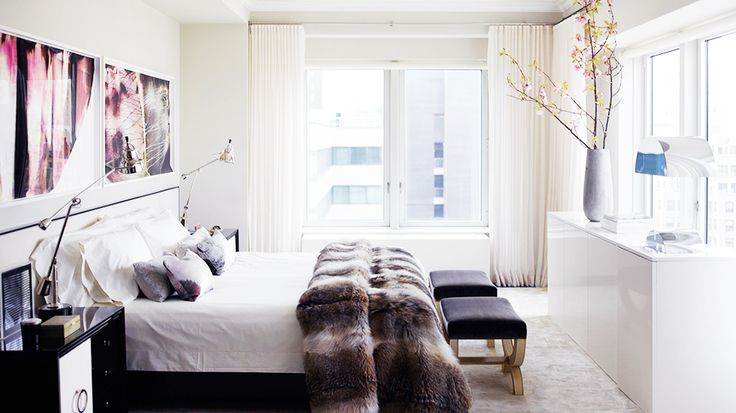 tour the ultimate celebrity home fur glamour bedroom