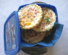 Mini bacon and egg pies  | Lunchbox  recipe | Easy food recipes - Budget