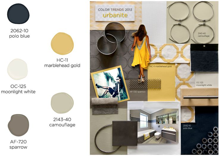 Urbanite paint color palette  Benjamin Moore Color Trends 2013 Best 25  Benjamin moore sparrow ideas on Pinterest   Exterior door  . New Colors For 2013. Home Design Ideas