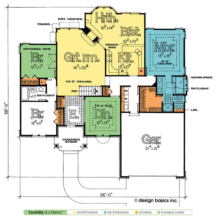 Traditional Home Plan At Design Basics