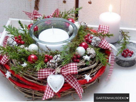Table wreath- Herzl Christmas