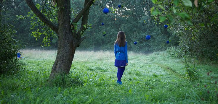 Blue time #girl #outdoor #location #blue #solitude #loneliness  #teenager  ww.mamochotena.pl