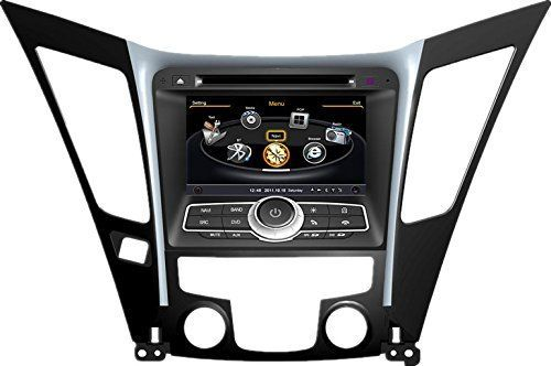 Generic 7 inch HD Touchscreen Car DVD GPS Player for 2011 Hyundai Sonata car