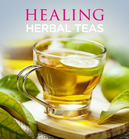 6 Herbal Teas That Heal