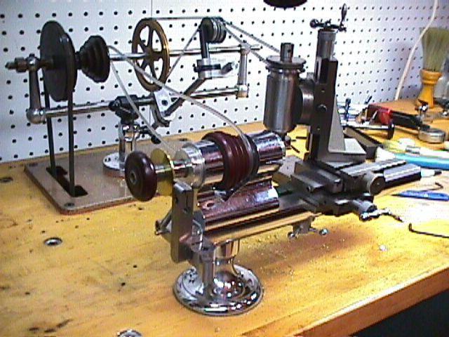 Watch Gear Cutter by  -- Homemade watch gear cutter constructed from a benchtop lathe and a milling spindle. http://www.homemadetools.net/homemade-watch-gear-cutter