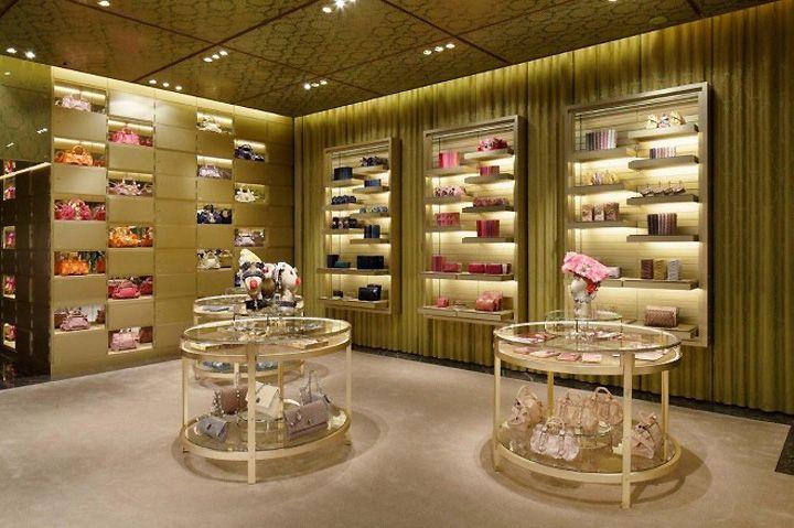 Miu Miu store by Roberto Baciocchi, Tokyo store design