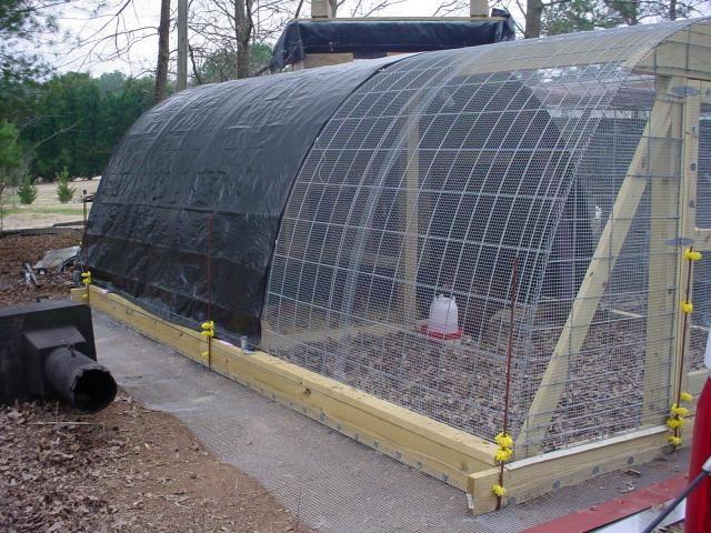Guía Permanente Hoop Coop - pollos del patio trasero de la Comunidad