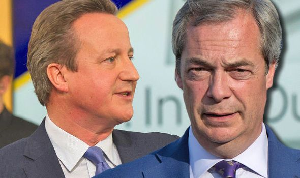 Nigel Farage says Cameron's Remain bid is 'in trouble' after 'very poor' EU debate showing  NIGEL Farage said David Cameron's performance in the Sky News EU debate just goes to show that he can't answer the million dollar migration question about controlling our borders while remaining in the European Union.  By LAURA MOWAT PUBLISHED: 00:00, Fri, Jun 3, 2016