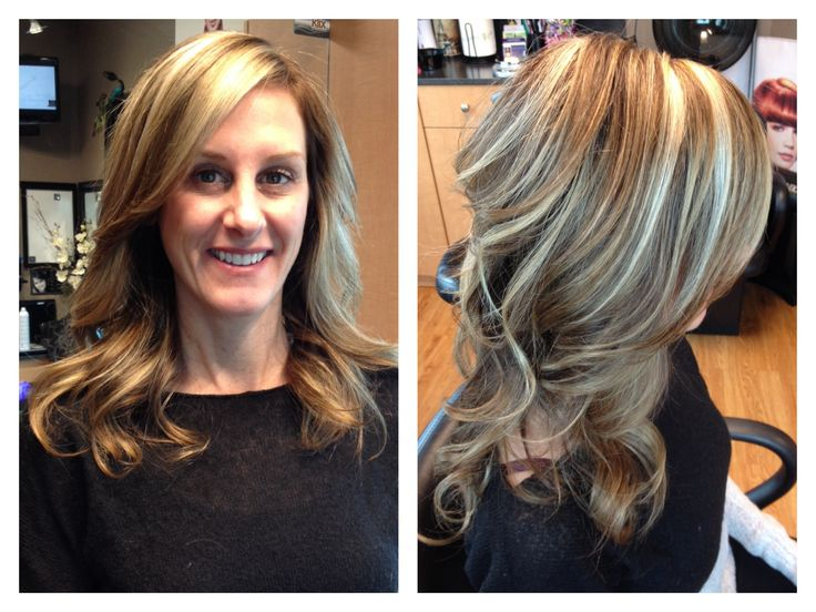 Light brown hair with blonde highlights | Hair by Melissa ...
