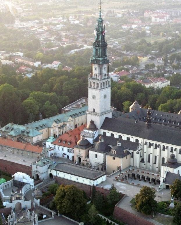 Jasna Gora Monastery - Czestochowa. Major pilgrimage site. Home of the image of Black Madonna.