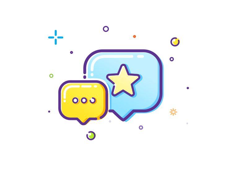 Dialog icon by Andrey Prokopenko - Dribbble