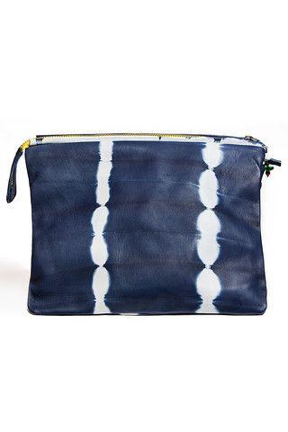 Hayat Nappa Leather Clutch $142 | Accompany